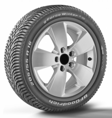 Opona 215/55R16 BFGOODRICH G-FORCE WINTER2 XL 97H C/B/1 69dB